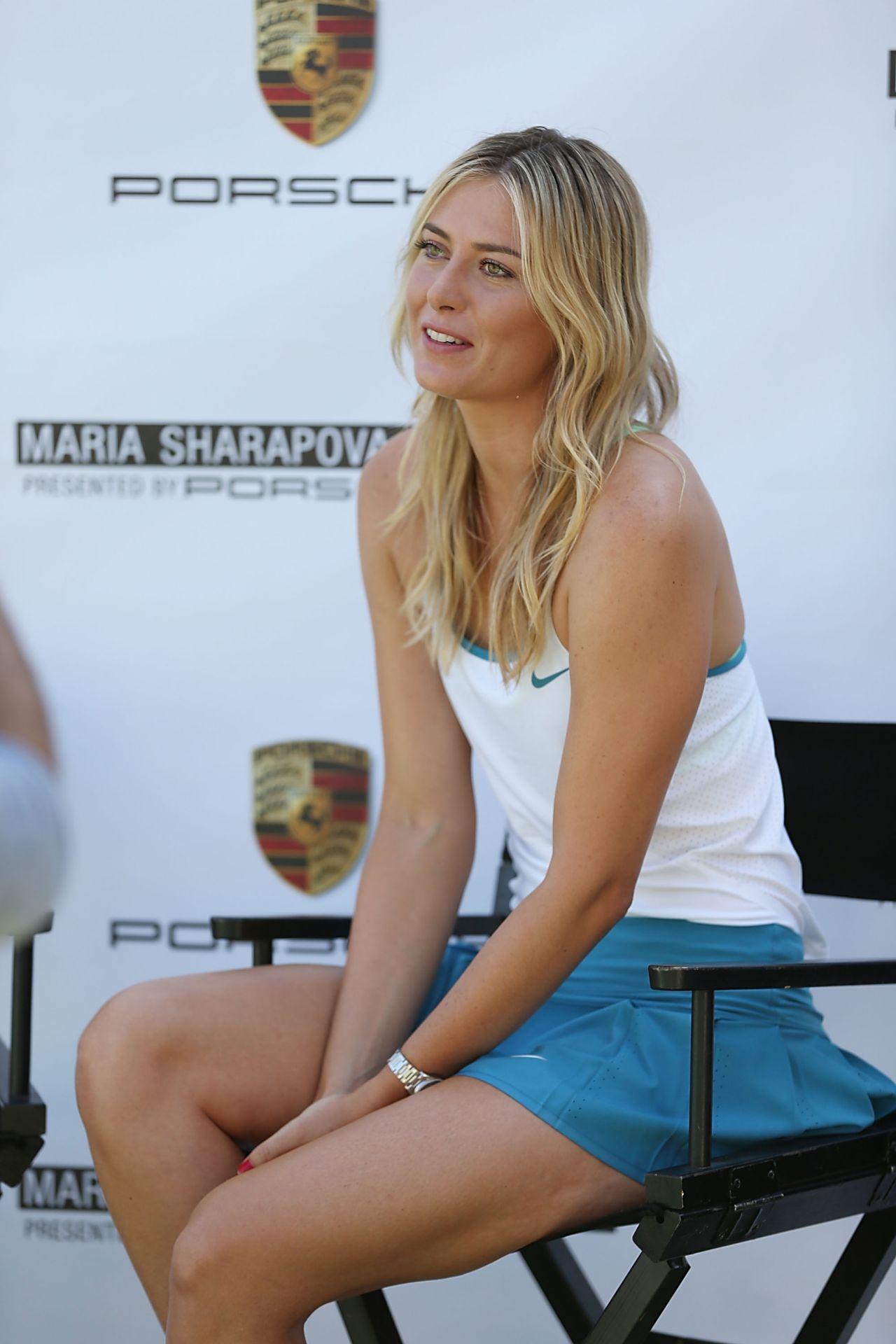 Maria Sharapova – Maria Sharapova and Friends Presented by Porsche ...