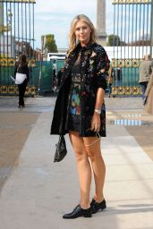 Maria Sharapova - Paris Fashion Week, October 2015