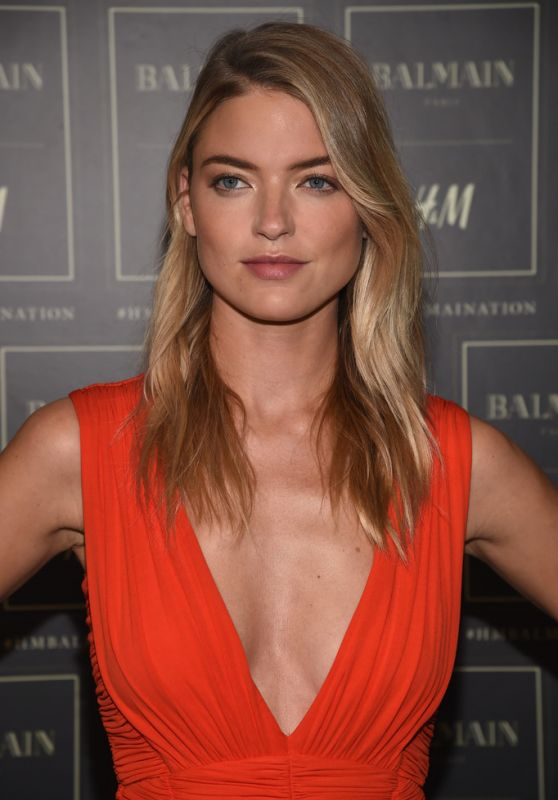 Martha Hunt - BALMAIN X H&M Collection Launch in New York City