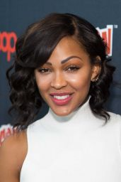 Meagan Good - Promoting Minority Report at 2015 New York Comic-Con