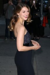 Melissa Benoist - Outside the