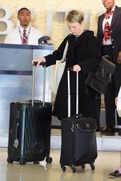 Mia Wasikowska at JFK Airport, October 2015