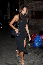 Michelle Keegan - Arriving at Mahiki Nightclub in London, October 2015