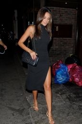 Michelle Keegan - Arriving at Mahiki Nightclub in London, October 2015