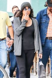 Michelle Rodriguez Street Style - Out in NYC, October 2015