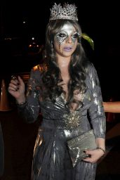 Michelle Trachtenberg - Casa Tequila Halloween Party in Beverly Hills, October 2015