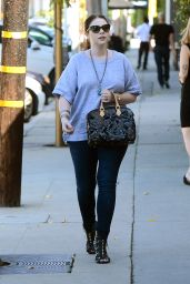 Michelle Trachtenberg Street Style - Out in LA, October 2015