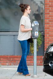Minka Kelly - Out in Beverly Hills, October 2015