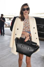 Miranda Kerr - at LAX Airport, October 2015
