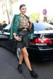 Miranda Kerr - Louis Vuitton Fashion Show in Paris, October 2015