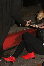 Mischa Barton - Takes a Tumble at Chateau Marmont in West Hollywood, October 2015