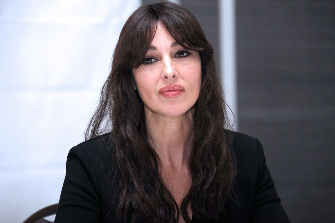 Monica Bellucci Spectre Press Conference In Mexico City