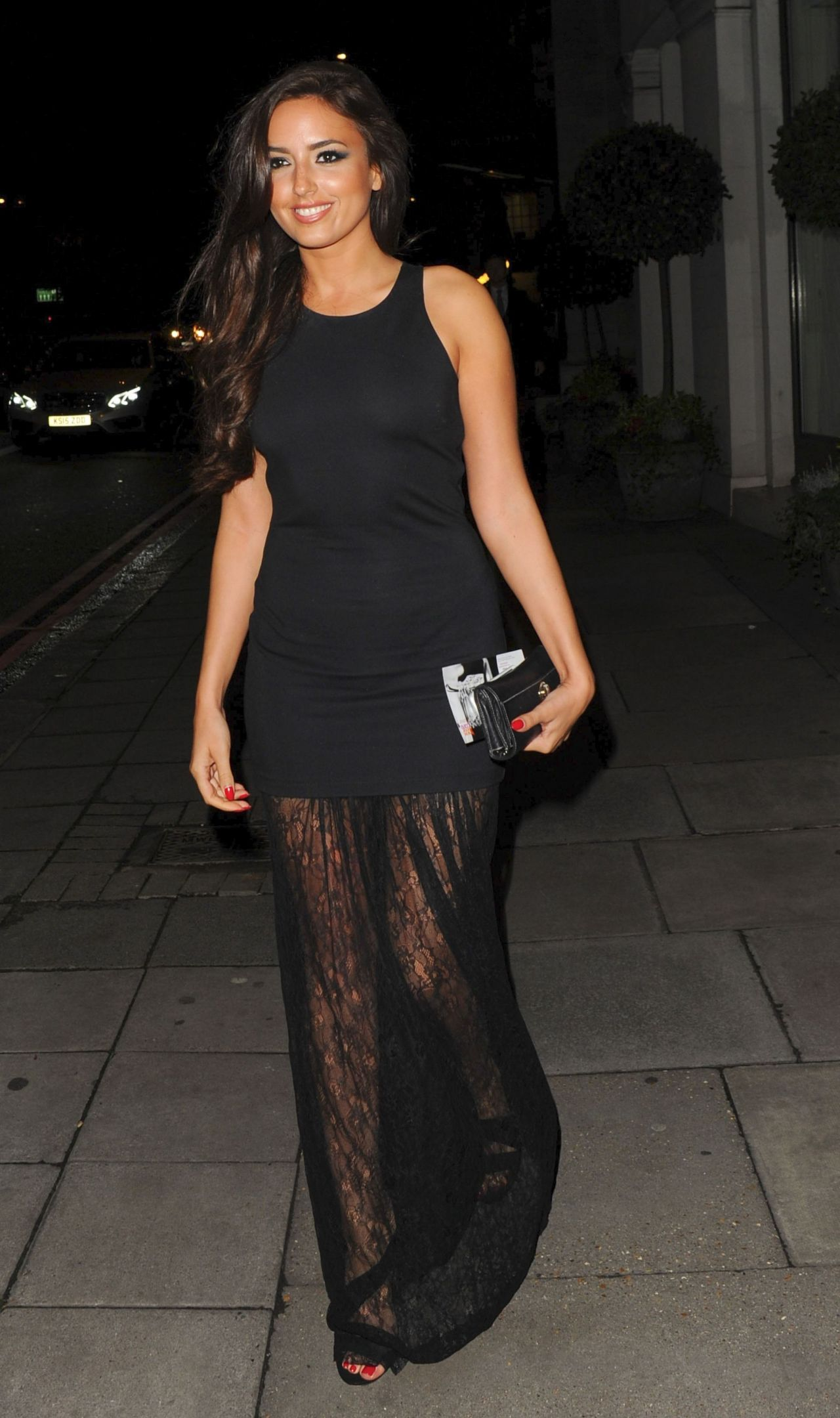 Nadia Forde The Breast Cancer Care Fashion Show In