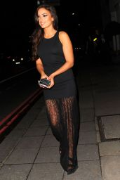 Nadia Forde - The Breast Cancer Care Fashion Show in London, October 2015