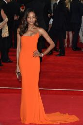 Naomie Harris on Red Carpet – 'Spectre' World Premiere in London