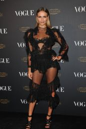 Natasha Poly - Vogue 95th Anniversary Party in Paris