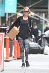 Nicky Hilton Carries a Package - Returns Home From the Gym, October 2015