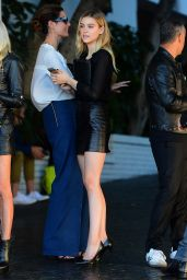 Nicola Peltz - CFDA/Vogue Fashion Fund Show and Tea in Los Angeles, October 2015