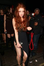 Nicola Roberts and Cheryl Fernandez-Versini - 30th Birthday Party in Mayfair London