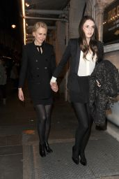 Nicole Kidman - Leaving the Noel Coward Theatre in London, October 2015
