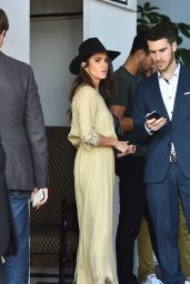 Nikki Reed - Leaves a CFDA and Vogue Party at Chateau Marmont, October 2015