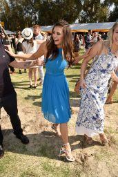 Nina Dobrev – 2015 Veuve Clicquot Polo Classic in Pacific Palisades