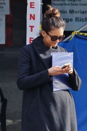 Nina Dobrev Autumn Style - Out in Vancouver, October 2015