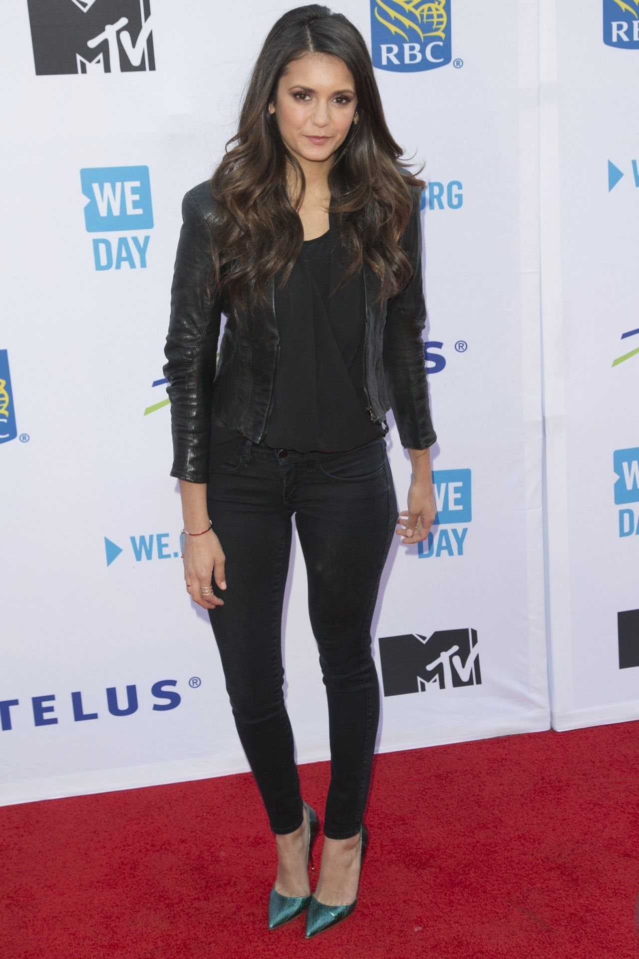 Nina Dobrev We Day Toronto 2015 In Toronto