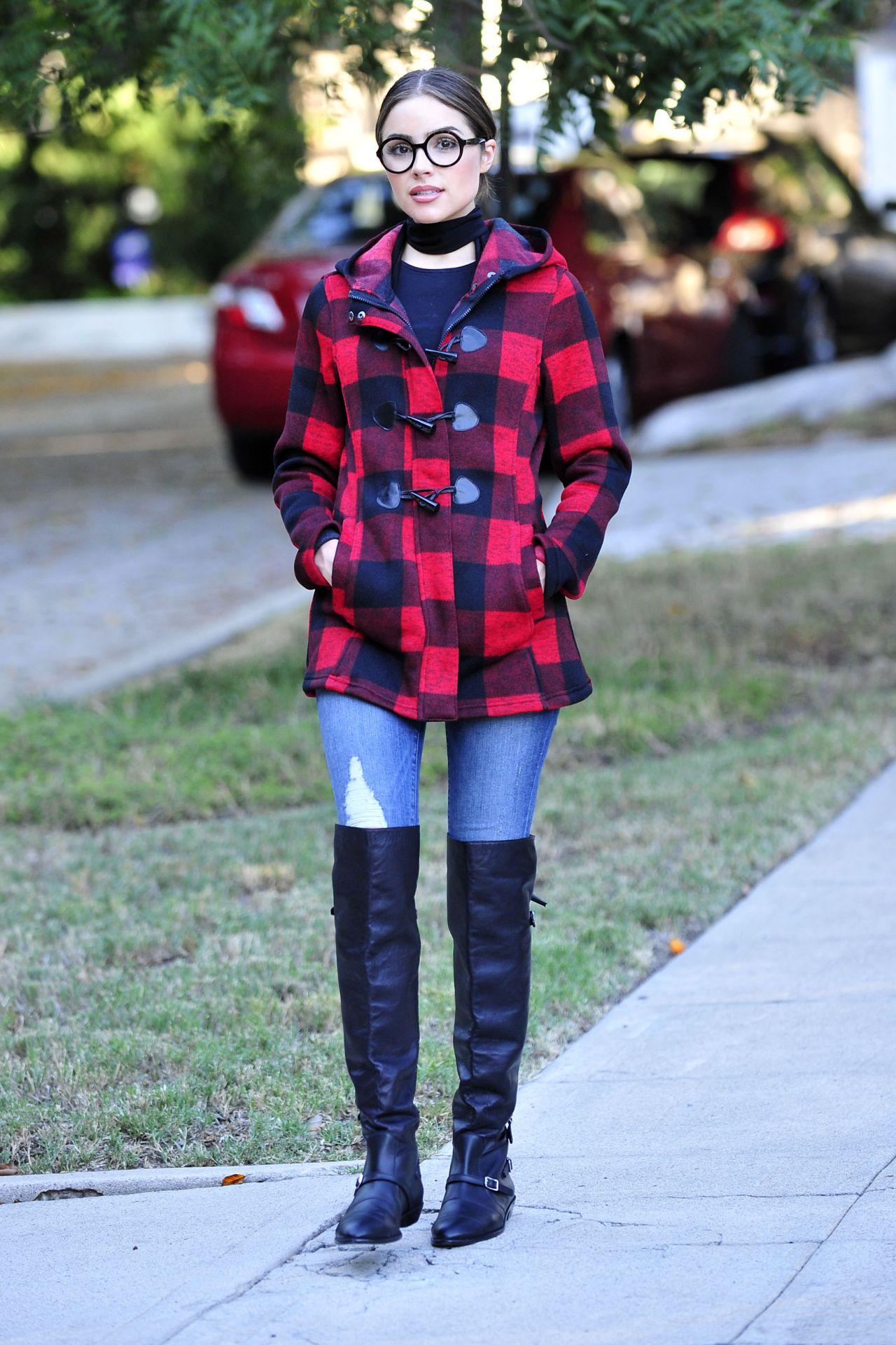 Olivia Culpo Autumn Style - Los Angeles, October 2015