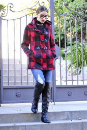 Olivia Culpo Autumn Style - Los Angeles, October 2015