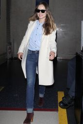 Olivia Wilde at JFK Airport, October 2015