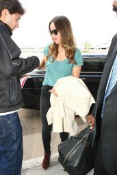 Olivia Wilde at LAX Airport, October 2015
