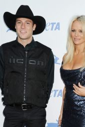 Pamela Anderson – PETA's 35th Anniversary Party in Los Angeles