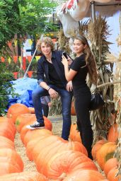 Paris Berelc at a Pumpkin Patch in Los Angeles, October 2015