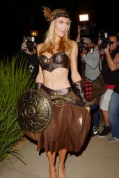 Paris Hilton - Casa Tequila Halloween Party in Beverly Hills, October 2015