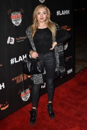 Peyton List – Griffith Park Haunted Hayride Opening Night in LA