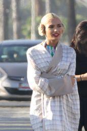 Pia Mia Perez - Filming a Music Video in Santa Monica, October 2015