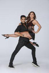 Priscilla Betti and Dancer Christophe Licata - Danse avec les Stars Photoshoot (October 2015)