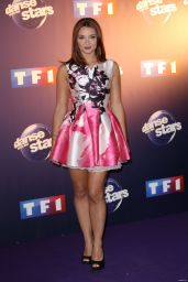 Priscilla Betti - Danse Avec Les Stars Press Conference in Paris, October 2015