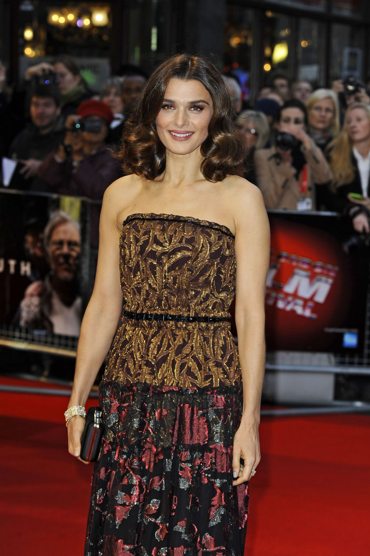 Rachel Weisz Youth Red Carpet At The Bfi London Film