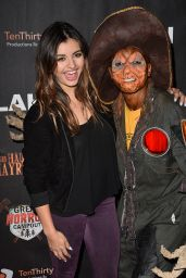 Rebecca Black – Griffith Park Haunted Hayride Opening Night in LA