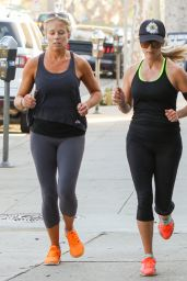 Reese Witherspoon - Going For a Jog in Los Angeles, October 2015