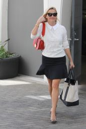 Reese Witherspoon - Leaving Her Office in Santa Monica, October 2015