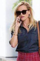 Reese Witherspoon - Leaving Her Office, October 2015