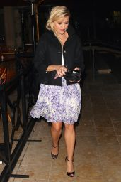 Reese Witherspoon - Leaving the Vogue Dinner Held at Bouchon in Beverly Hills, October 2015