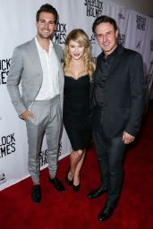 Renee Olstead - Sherlock Holmes Premiere in Los Angeles, October 2015