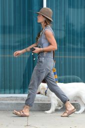 Rhona Mitra - Out in Beverly Hills, October 2015