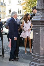 Rihanna - Arriving at the Dior Store in Paris, October 2015