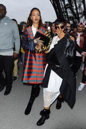 Rihanna Fashion - Eiffel Tower in Paris,  October 2015