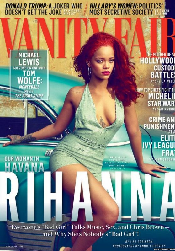 Rihanna - Vanity Fair Magazine November 2015